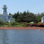 The inspiration lighthouse, now a cottage home.